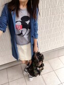 Ayako  さんの「カツラギタイトミニスカート(w closet ダブルクローゼット)」を使ったコーディネート