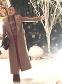「Carven Virgin Wool-Blend Midi Skirt(Carven)」 using this Chisato  looks