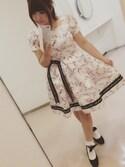 hiori*さんの「candy ribbonワンピース(Mサイズ)(RoseMarie seoir|ローズマリーソワール)」を使ったコーディネート