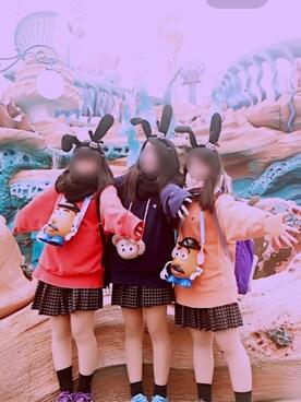 キさんの(Disney|ディズニー)を使ったコーディネート