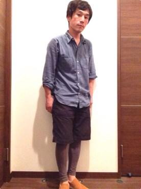 yamazaki yukichiさんの(45R|フォーティファイブ・アール)を使ったコーディネート