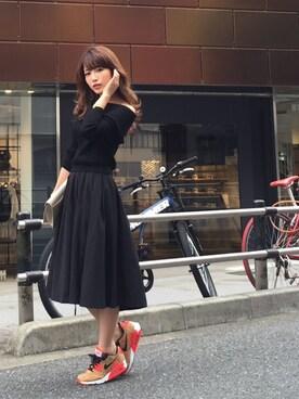 舟山久美子♡くみっきーさんの(NIKE)を使ったコーディネート