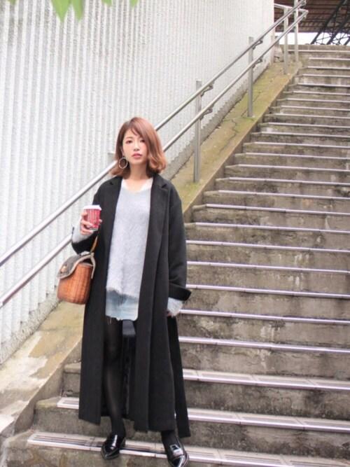 舟山久美子コーデ