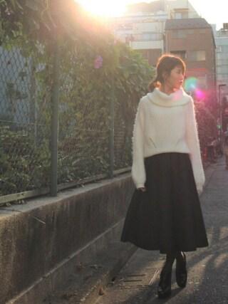 舟山久美子♡くみっきーさんの「【2017年福袋】MICOAMERI(¥10,000)(MICOAMERI ミコアメリ)」を使ったコーディネート