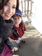 今日は息子と電車でお出かけ♪ なので、スニーカーにしました^ ^