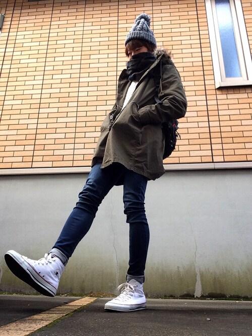 防寒対策もバッチリ*定番モッズコートの着こなしマニュアル