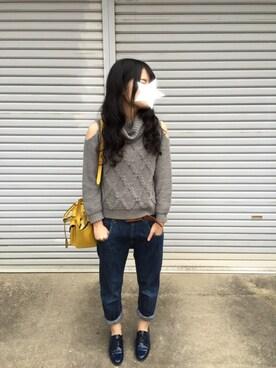 yumiさんの(FRAY I.D|フレイ アイディー)を使ったコーディネート