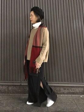 mika tamuraさんの(INFIELDER DESIGN)を使ったコーディネート