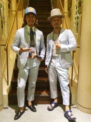 ユナイテッドアローズ 原宿本店 メンズ館|takeo yoshidaさんの「NIGOLD by UNITED ARROWS(ニゴールド バイ ユナイテッドアローズ) SUZUKI EIJIN(UNITED ARROWS & SONS|ユナイテッドアローズ アンド サンズ)」を使ったコーディネート