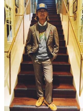 ユナイテッドアローズ 原宿本店 メンズ館|takeo yoshidaさんの「メンズ アディダス アイランドシリーズ ハワイ adidas HAWAII M19687(adidas originals|アディダス)」を使ったコーディネート