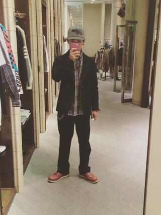 ユナイテッドアローズ 原宿本店 メンズ館|takeo yoshidaさんの「RED WING 6inch CLASSIC MOC(RED WING|レッドウィング)」を使ったコーディネート