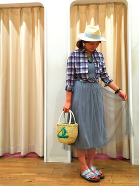 INTERPLANET WINGS 浜松市野店|りさこさんのコーディネート