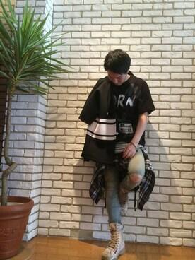 ROYAL FLASH 南船場|akihiro        okadaさんの「gunda [ガンダ] HAREM BR A/ハーレム ブレスレット A(gunda)」を使ったコーディネート