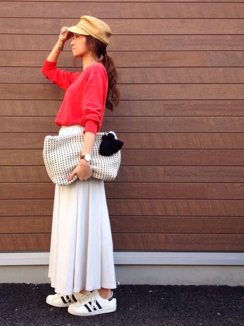 春はやっぱりスカートが気分。GUで人気のスカートをチェックして♡