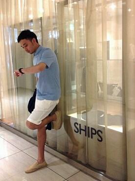 "SHIPS ���c�X�b��{����̃|���V���c�uSC: SHIPS(�V�b�v�X) ""COOLMAX"" �J�m�R �{�^���_�E�� �|���V���c2�iSHIPS�b�V�b�v�X�j�v���g�����R�[�f�B�l�[�g"