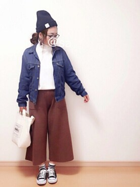 @sami♡さんの「TRAVEL COUTURE by LOWERCASE キャンバストートバッグS(URBAN RESEARCH|アーバンリサーチ)」を使ったコーディネート