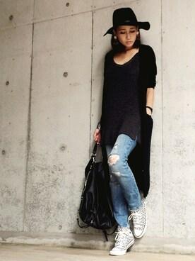 Yukie♡iさんの(H&M|ヘンネスアンドモーリッツ)を使ったコーディネート