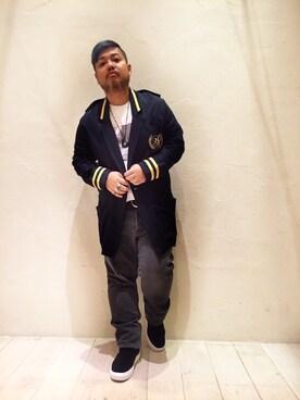 BEAUTY&YOUTH UNITED ARROWS Isao Takahashiさんの(Hombre Nino オンブレ・ニーニョ)を使ったコーディネート