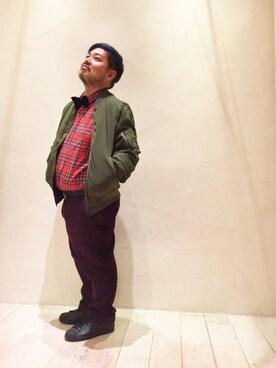 ビューティ&ユース ユナイテッドアローズ お台場店|Isao Takahashiさんのミリタリージャケット「BY ∴ シンサレート MA-1(BEAUTY&YOUTH UNITED ARROWS|ビューティアンドユースユナイテッドアローズ)」を使ったコーディネート