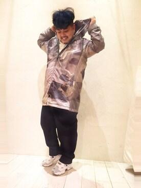 ビューティ&ユース ユナイテッドアローズ お台場店|Isao Takahashiさんの(Reebok|リーボック)を使ったコーディネート