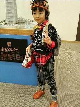 Misaoさんの(BOOFOOWOO|ブーフーウー)を使ったコーディネート