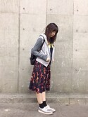 「Givenchy Backpack in black coated canvas(Givenchy)」 using this nao looks