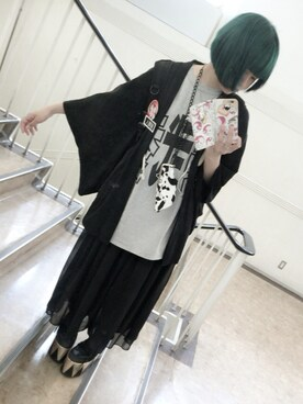 「QOZMOPOLITAN(YRU)」 using this 海月 あをい looks