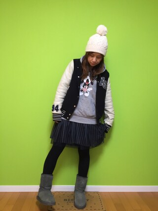 chii*Others「スタジャン祭り 」Styling looks
