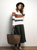 natsumi imaiさんの「【PLAIN CLOTHING】リバーシブルトートバッグ(PLAIN CLOTHING|プレーンクロージング)」を使ったコーディネート