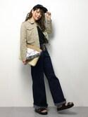 natsumiさんの「M-65ミリタリーワークジャケット(DRWCYS|ドロシーズ)」を使ったコーディネート