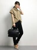 natsumi imaiさんの「ミディアムサイズボストンバッグ(titivate ティティベイト)」を使ったコーディネート
