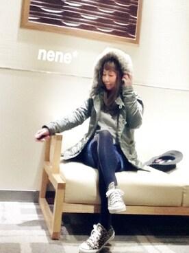 nene*さんの(MIRROR OF Shinzone|ミラーオブシンゾーン)を使ったコーディネート
