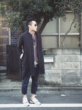 Super-Leeさんの(BLUE BLUE JAPAN|ブルーブルージャパン)を使ったコーディネート