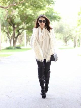 nichollvincentさんの「Wit & Wisdom Strech Skinny Jeans Black」を使ったコーディネート