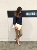 BLISS POINT 京都桂川店 Womens Staffさんの「【ヒルナンデス!紹介アイテム】SSベーシックパンプス65/710414(BLISS POINT|ブリスポイント)」を使ったコーディネート