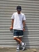「Mark Gonzales(マーク・ゴンザレス) プリントTシャツ(Mark Gonzales)」 using this Lui's 船橋店|Lui'sららぽーとTOKYO-BAY looks