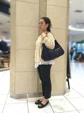 鹿児島アミュプラザbijiness by SAZABY|イマムラさんの(SAZABY|サザビー)を使ったコーディネート