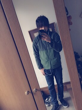 Ryusei Nakahashi│Columbiaのマウンテンパーカーコーディネート