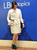 LBC STAFFさんの「Staff bag(LBC|エルビーシー)」を使ったコーディネート