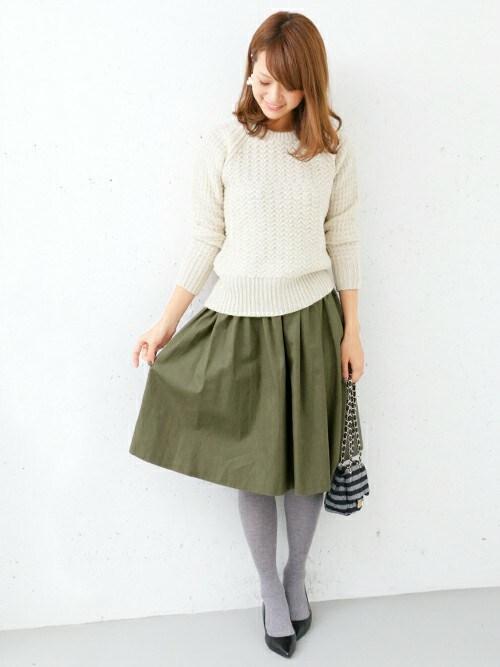 男子ウケがいい!20代後半~30代女子の春・秋モテファッションコーデ集