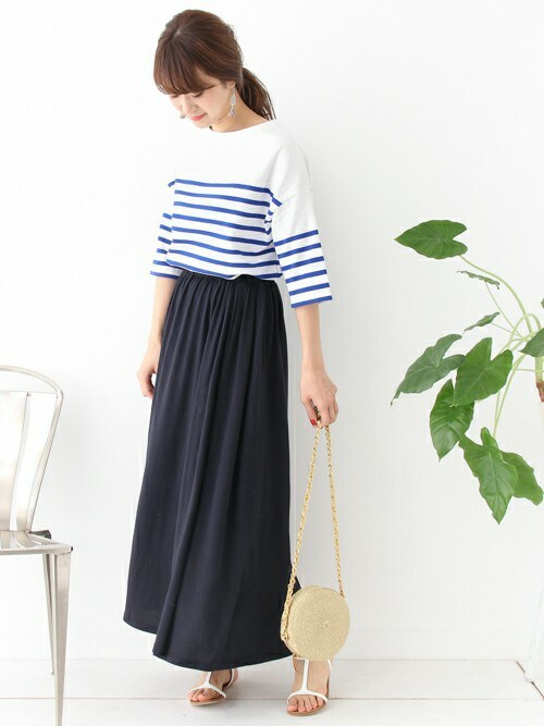 DOORS WOMENSさんの「ORCIVAL MARINE NATIONALE(URBAN RESEARCH DOORS WOMENS)」を使ったコーディネート