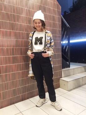 BEAVER渋谷店|YAMASHiTAさんの「D.M.G./ディーエムジー T/Rテーパードトラウザー(D.M.G.)」を使ったコーディネート