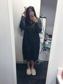 「ASOS COLLECTION ASOS Midi Dress In Mohair With V-Neck(Asos)」 using this Diana Lam looks