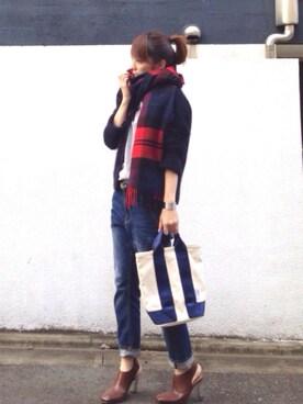 LUMIEさんの(Traditional Weatherwear|トラディショナルウェザーウェア)を使ったコーディネート