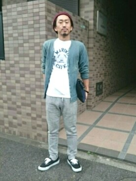 小川 宏人さんの(quadro|クオドロ)を使ったコーディネート