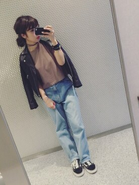 (FOREVER 21) using this みけ looks