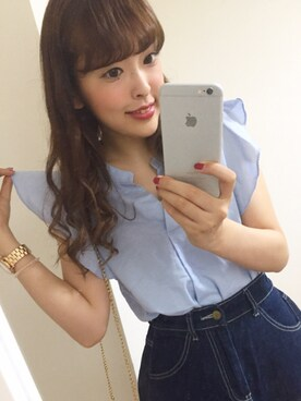 「MARC by Marc Jacobs Baker Golden Analog Watch with Bracelet(Marc by Marc Jacobs)」 using this kana looks
