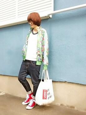 あゆみっくすさんの(adidas Originals by JEREMY SCOTT|アディダスオリジナルスバイジェレミースコット)を使ったコーディネート