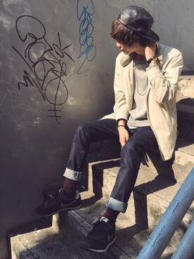 STUDIOUS MENS ルミネエスト新宿店|みっきーさんの(Yves Saint Laurent)を使ったコーディネート