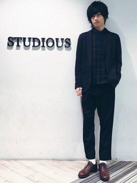 STUDIOUS MENS ルミネエスト新宿店|みっきーさんの(kiit|キート)を使ったコーディネート